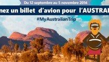 Gagnez un billet d'avion pour l'Australie