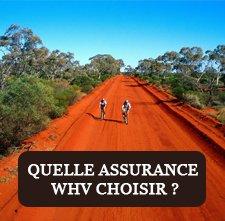Choisir son assurance PVT WHV Australie