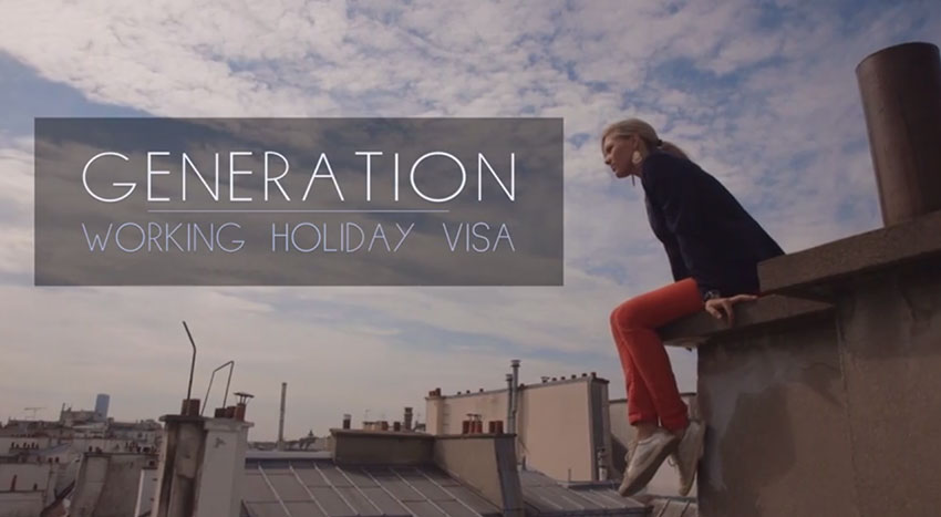 generation working holiday visa